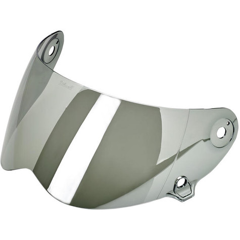 Biltwell Lane Splitter Shield in Chrome Mirror - Overview