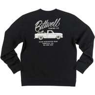 Biltwell Towin Crew Neck in Black - Rear