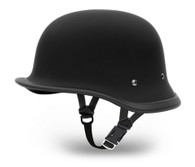 Daytona Big German Novelty Helmet in Flat Black