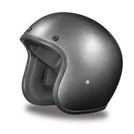Daytona Cruiser 3/4 Open Face D.O.T. Helmet in Gun Metal Grey Metallic - Overview