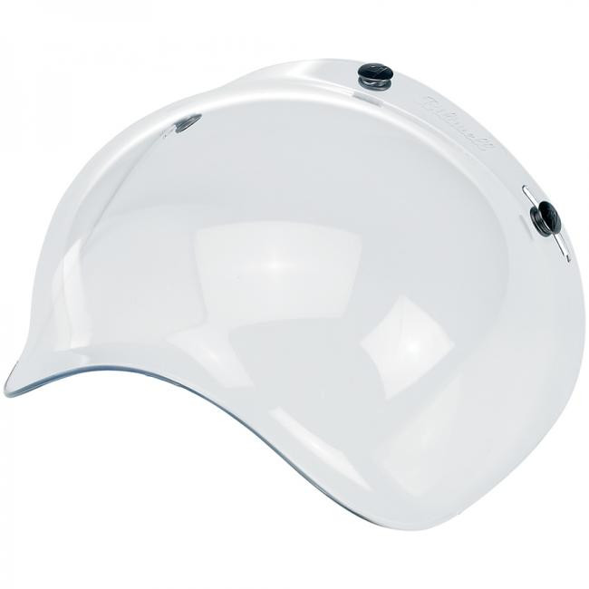 651a3298 Biltwell Bubble Shield for 3-Snap Helmets - Clear
