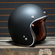 BLOWOUT! Torc T-50 Open Face 3/4  Helmet - Flat Black