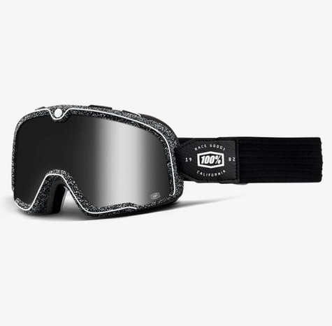 100% Barstow Motorcycle Goggles in Noise - Side View