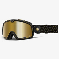 100% Barstow Motorcycle Goggles in Roland Sands - Side View
