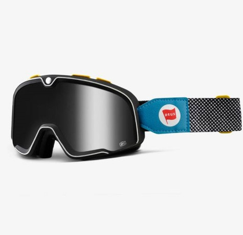 100% Barstow Motorcycle Goggles in Deus - Side View