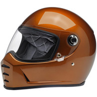 Biltwell Lane Splitter Moto Helmet in Gloss Copper - Overview