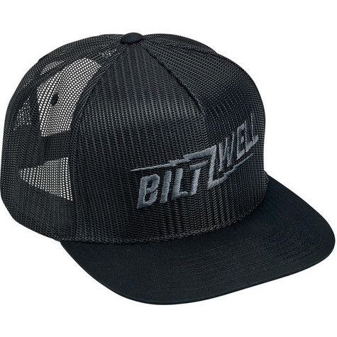 Biltwell Bolts Snap Back in Black - Overview
