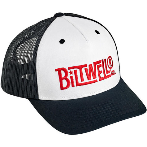Biltwell Vintage Snap Back in Black/White/Red - Overview