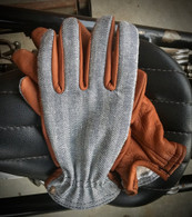 Grifter Wool-Lined Herringbone Leather Ranger Gloves - Overview