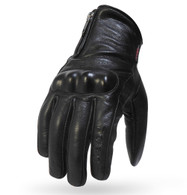 Torc Beverly Hills Leather Motorcycle Gloves in Black