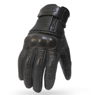 Torc Ventura Leather Moto Gloves in Brown
