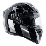 Torc T-15 DOT-Approved Full Face Motorcycle Helmet in Captain Shadow Gloss Finish