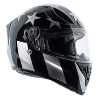 Torc T-15 DOT-Approved Full Face Motorcycle Helmet w/Blinc in Captain Shadow Gloss Finish - Overview
