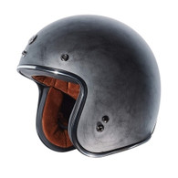 Torc T-50 Moto Helmet in Weathered Silver