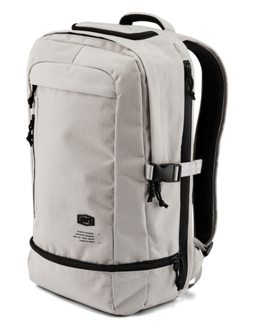 2019 100% Transit Motorcycle Backpack in Warm Grey