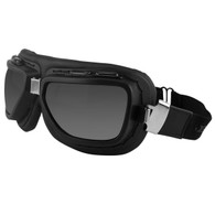 Bobster Pilot Goggles in Black with Clear & Smoke Lens Included - Overview