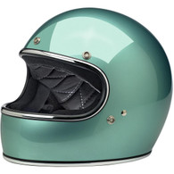 Biltwell Gringo Full Face Motorcycle Helmet in Gloss Sea Foam  - Overview