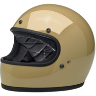 Biltwell Gringo Full Face Motorcycle Helmet in Gloss Coyote Tan - Overview