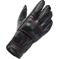 Biltwell Borrego Moto Riding Glove in Redline - Top Right