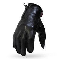 Torc Griffith Park Leather Motorcycle Glove in Black - Overview