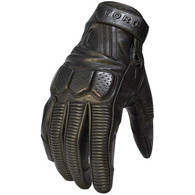 Torc Hawthorne Leather Moto Gloves in Black