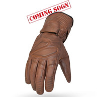 Torc Fresno Leather Moto Gloves in Antique Brown