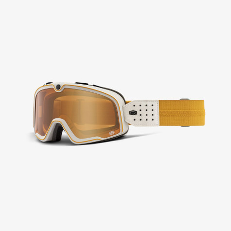 100% Barstow Oceanside Motorcycle Goggles - Front
