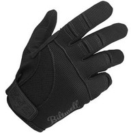 Biltwell Moto Riding Gloves in Black - Top