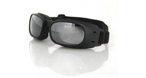 Bobster Piston Goggles with Smoked Reflective lenses