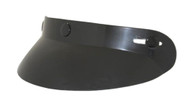 Bubble Visor for 3-Snap Helmets in Gloss Black