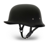 Daytona German Novelty Helmet in Flat Black