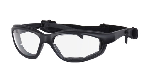 Daytona Interchangeable Goggles/Sunglasses with Clear Lenses.