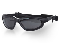 Daytona Interchangeable Goggles/Sunglasses with Transitional Photochromic Lens.