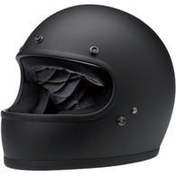 Biltwell Gringo full face helmet in Flat Black - Overview
