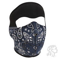 Zan Headgear Full Face Mask - Blue Bandanna