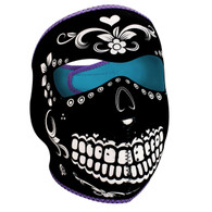 Zan Headgear Full Face Neoprene Mask - Muerte Day of the Dead Dia de Muertos