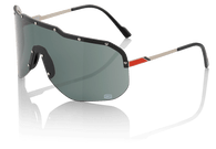 100% Westfield Sunglasses in Titanium with Smoke Lenses - Angle