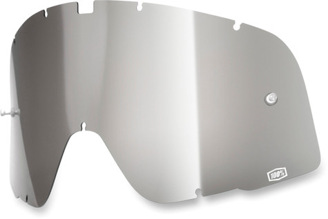 100% Barstow Goggle Replacement Lens in Silver Mirror Tint.