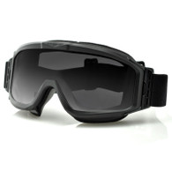 Bobster Alpha Ballistics Goggles in Black - Front Angle