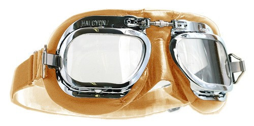 54a50bb460 Halcyon Mark 410 Deluxe Goggle - Tan Leather