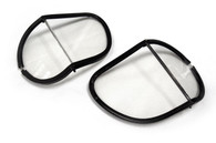 Halcyon Polycarbonate Replacement Split Lens in Clear for Aviator Goggles