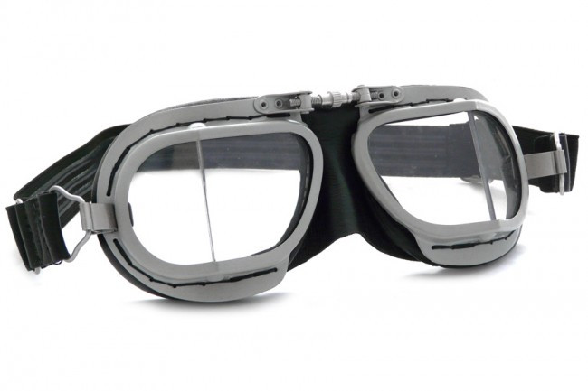 8b0d1563fb7 Halcyon Compact 9 Rider Aviator Goggle - Black