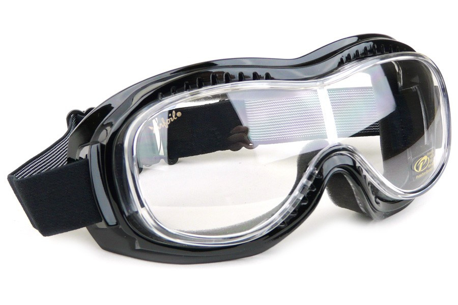 6df151988fb Airfoil Mark 5 Vision Fit-Over Motorcycle Goggles - Clear