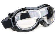 Airfoil Mark 5 Vision Fit-Over Motorcycle Goggles with Clear lens