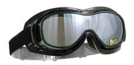 Airfoil Mark 5 Vision Fit-Over Motorcycle Goggles with Smoke lens