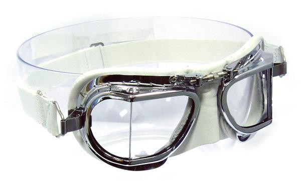 54abef16042 Halcyon Compact 49 Deluxe Goggle - White Leather