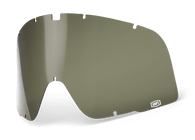 100% Barstow Goggle Curved Replacement Lens in Curved Dalloz Olive