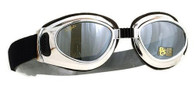 Airfoil Gamma 5 Motorcycle Goggles - Mirrored Lenses