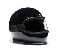 Equilibrialist Knox Maska Visor - Black/Clear - On Helmet, Overview