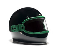 Equilibrialist Knox Maska Visor - Hunter Green/Clear